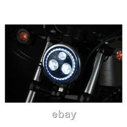 Optique De Phare 5 3/4 Harley Davidson 1984-2017 Kuryakyn Orbit Vision