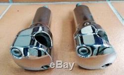 Paire De Risers De Guidon Harley Davidson Softail Springer