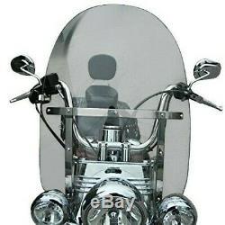 Pare-Brise Amovible pour Harley-Davidson Softail
