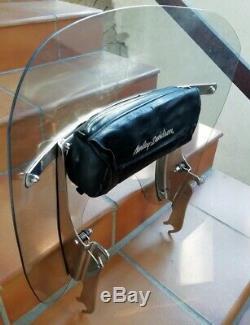 Pare Brise Clipsable Court D'origine Harley Davidson Pour Softail Twin Cam
