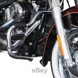 Pare-Chocs pour Harley Davidson Heritage Softail Classic 00-17 Moustache Chrome