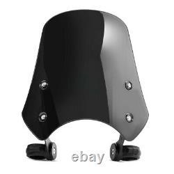 Pare brise pour Harley Davidson Softail Blackline FB2 noir