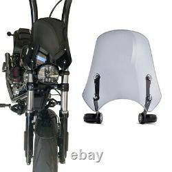 Pare brise pour Harley Davidson Softail Custom FB2 gris fumé