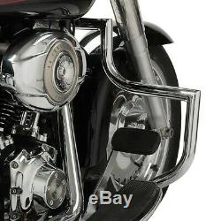 Pare carter pour Harley Davidson Softail 00-17 Craftride ST1 chrome