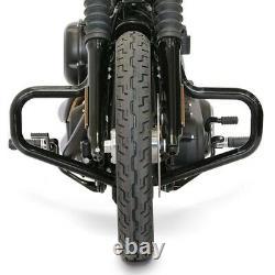 Pare cylindre Mustache pour Harley Davidson Softail Standard 2020 noir