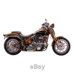 Paughco Système D'Échappement Dump Tuyaux Chrome, pour Harley Davidson Softail