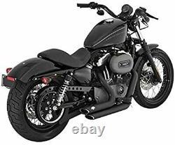 Pot D'Échappement Vance & Hines Coups Courts Noirs Harley Davidson Sport Ster