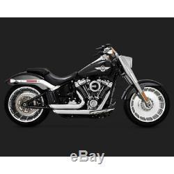 Pots Vance & Hines Shortshots chrome Softail 2018 Harley Davidson 17235