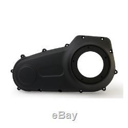 Primaire Couverture, Couvercle Noir pour Harley-Davidson Softail 07-17, Dyna 06-17