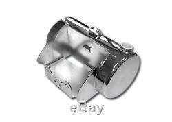 Réservoir d'huile côté plat pour Harley Davidson Softail Twin Cam 88