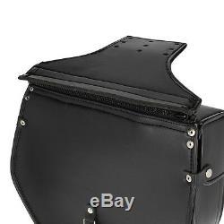 Sacoche Lateral Kentucky pour Harley Davidson Softail Slim (FLS) noir