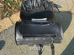 Sacoche arrière de porte bagage ou de sissy bar Springer Softail Harley Davidson