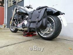 Sacoche de Selle Sacoches The Big Harley Davidson Fatboy 2018 Softail