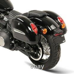 Sacoches laterales pour Harley Davidson Softail Street Bob MG