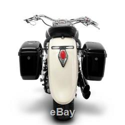 Sacoches rigides Nevada 20l pour Harley Davidson Heritage Softail Special