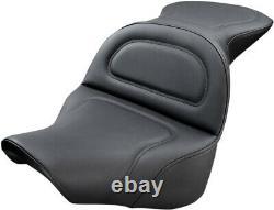 Seat explorer smooth black HARLEY DAVIDSON ABS SOFTAIL FAT BOY FLFBS Sadd