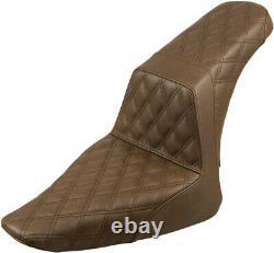 Seat ls-step up lattice brown HARLEY DAVIDSON SOFTAIL SLIM FLS ABS FXS Sa