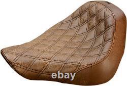 Seat renegade-ls solo brown HARLEY DAVIDSON ABS SOFTAIL FAT BOY FLFBS Sa