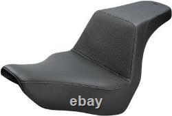 Seat step up gripper smooth black HARLEY DAVIDSON ABS SOFTAIL FLSB SPORT GL