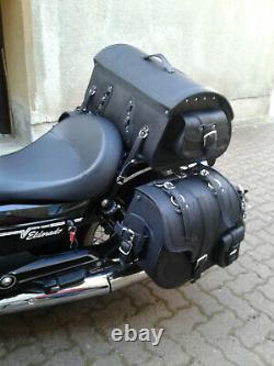 Selle Big Garçon + Support XL pour Softail à Partir 2018 Harley Davidson