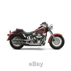 Silencieux Cobra 3 Noirs Harley Davidson Softail Fls Slim 2012-2016