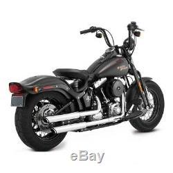 Silencieux Vance & Hines Twin Slash Harley Davidson Softail Crossbones 2008-2011