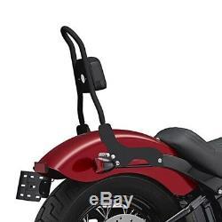 Sissy BAR Csm pour Harley Davidson Softail Street Bob 18-19 Noir