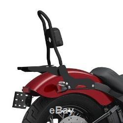 Sissy Bar CSM + porte bagages pour Harley-Davidson Softail Slim 18-19 noir