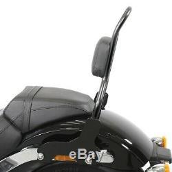 Sissy Bar CSM pour Harley-Davidson Softail Low Rider 18-20 noir