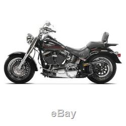 Sissy Bar CSS Fix pour Harley-Davidson Softail 07-17 porte bagages noir