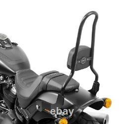 Sissy Bar CSXL pour Harley-Davidson Softail Fat Bob 114 18-21 noir