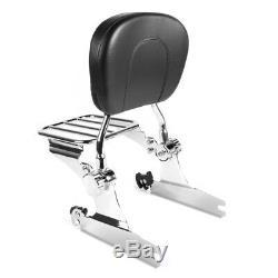 Sissy Bar avec porte bagages detachable pour Harley Davidson Softail Modèles -20