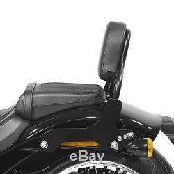 Sissy Bar pour Harley Davidson Softail Low Rider / S 18-20 noir CSS