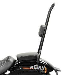 Sissy bar XL pour Harley Davidson Softail Street Bob 18-20 SRL noir