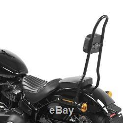 Sissy bar pour Harley Davidson Softail Street Bob 18-20 Craftride SRL noir
