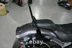 Sissybar Amovible Noir Harley Davidson Fxb Softail en Petits Groupes Année 2015