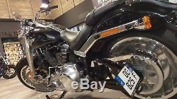 Support de plaque latéral Harley-Davidson Softail FLFB FAT BOY 107-114 2018-19