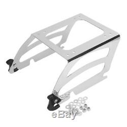 Support top case Solo pour Harley Davidson Heritage Softail Classic 00-17 chrome