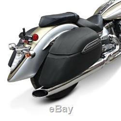 Valises rigides 33l pour Harley Davidson Softail Standard, Night Train, Street 750