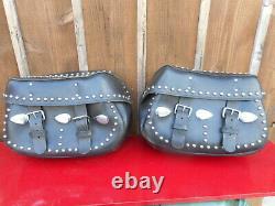 Veritable Sacoches D'origine Harley Davidson Softail Heritage Et Autres